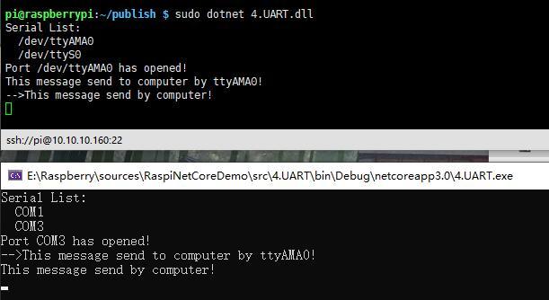 树莓派.Net Core Iot入门系列篇(4):UART串口通信插图3