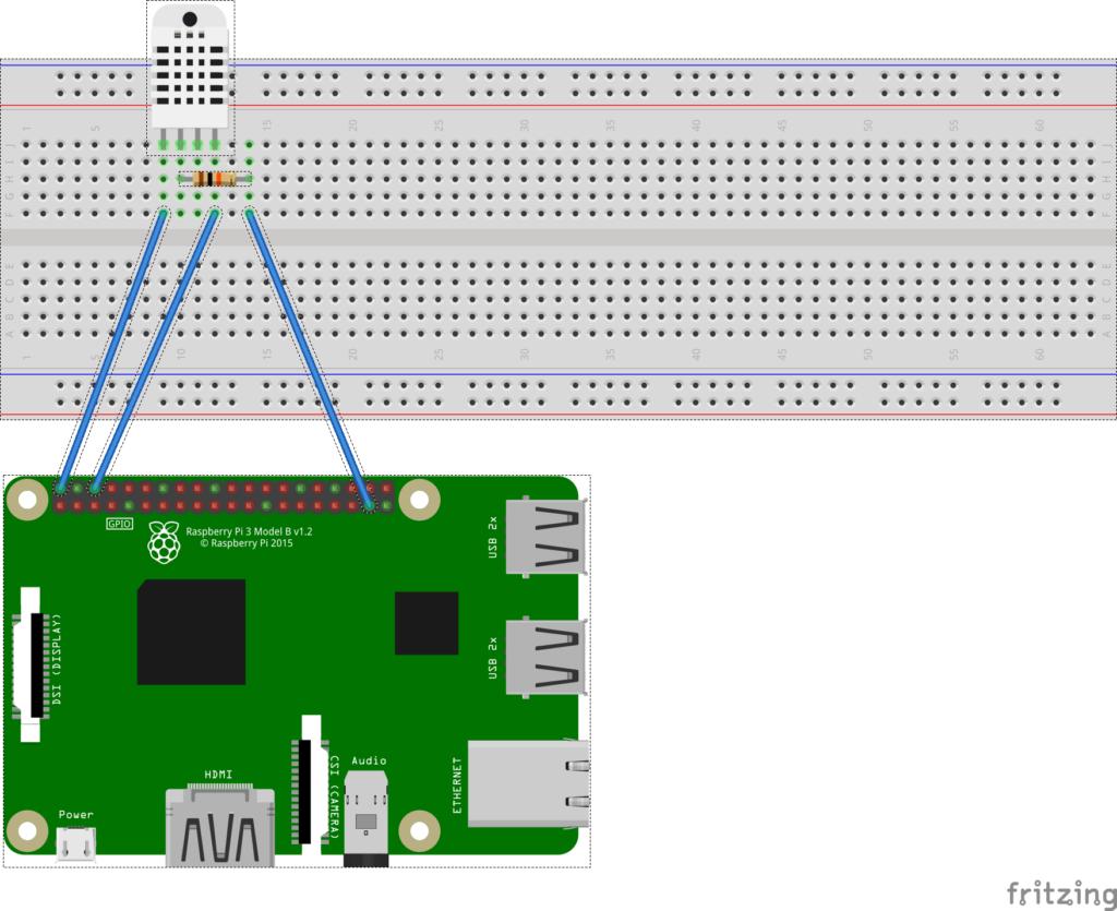 树莓派.Net Core Iot入门系列篇(2):DHT22温湿度传感器的使用插图1