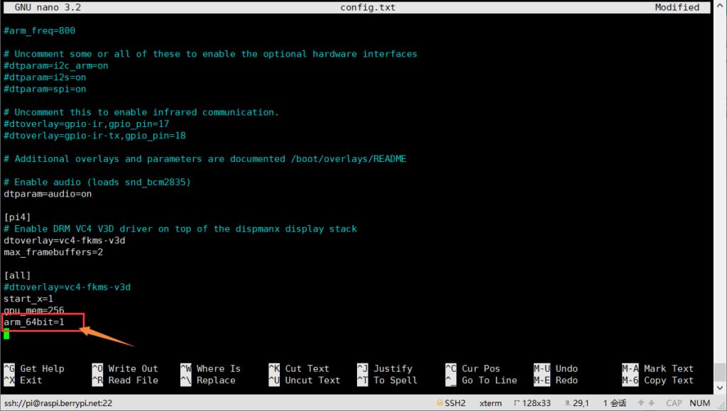 树莓派4B(Raspbian)切换64位内核+简单性能测试插图2