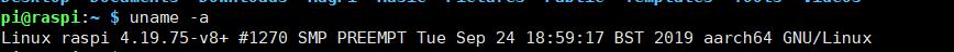 树莓派4B(Raspbian)切换64位内核+简单性能测试插图3