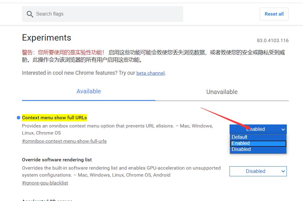 Chrome显示完整URL和HTTP协议插图